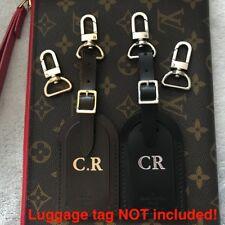 Oro y plata Bolso Ganchos Para Etiqueta del equipaje Langosta Broche Trajes Louis Vuitton Lv