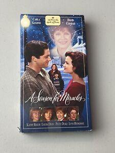A Season for Miracles (VHS, 2000) Hallmark Film Movie VG