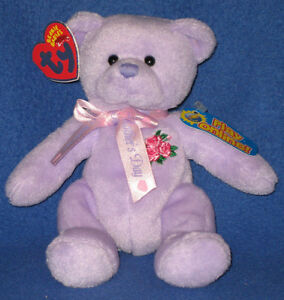 TY LOVE to MOM the BEAR 2.0 BEANIE BABY - MINT with UNUSED CODE