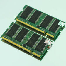 Neu 1GB 2X 512MB PC2100 DDR266 SODIMM 200PIN MEMORY LAPTOP RAM