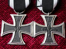 Replica Copy aged WW1 Imperial Iron Cross 2nd Class Medal moulded from original