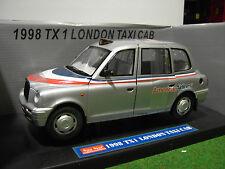 TAXI CAB TX1 LONDON AMERICAN AIRLINES 1998 gris 1/18 SUNSTAR voiture miniature