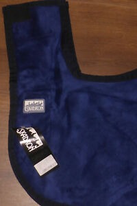 ESKADRON DRALON Ausreitdecke Nierendecke 145cm L, blau, NEU mit Etikett!