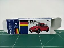 REPRODUCTION BOX for Tomica Blue Box No.F20 Volkswagen 1200LSE