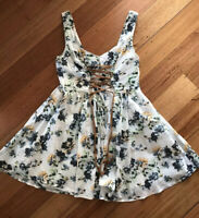 Milk And Honey Floral Dress Size 12