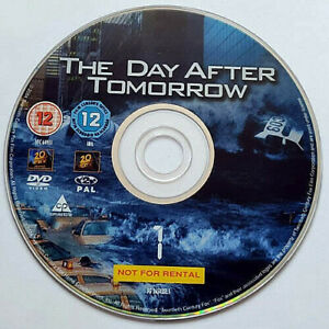 The Day After Tomorrow (DVD) Disc Only - Dennis Quaid - Jake Gyllenhaal - (2004)