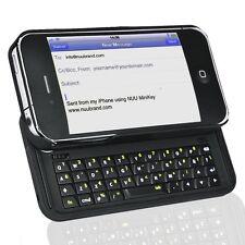 NUU K1 42-Key MiniKey Bluetooth Keyboard for iPhone 4/4S Black