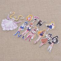 Sailor Moon Posted Stickers Animation Art Character Kawaii Anime Hot 10X Random