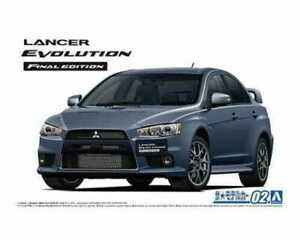 1:24 Scale Aoshima Mitsubishi Lancer Evolution X CZ4A Final Edition Model Kit #1