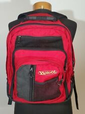Vintage 1998 Yahoo! Gregory Mountain Laptop Backpack Red and Black Hiking Travel