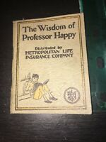 The Wisdom Of Professor Happy by Cliff Goldsmith 1923.