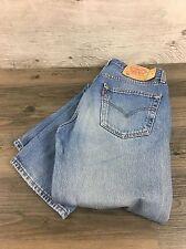 Levi Strauss 501 Pale Blue Jeans W33 L36