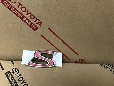 """Toyota/LEXUS """"s"""" Hayon Emblème Logo trunk lift Gate emblème symbole"""