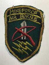 ORIGINAL VIETNAM WAR Mike Force Air Borne SPECIAL FORCES PATCH