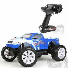 HiMOTO Monster Truck 1:10 Elektro RTR set 2,4GHz blue HMHI2101RC-L Akku + Lader