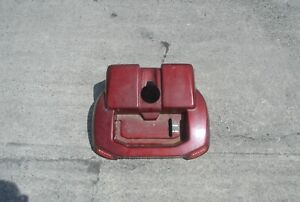 RED BRUNO MOBILITY SCOOTER BATTERY COVER / BODY PANEL