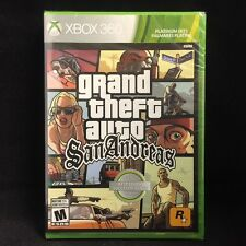 Grand Theft Auto: San Andreas (Xbox 360) Brand New