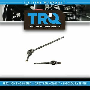 TRQ Front Axle Shaft Assembly LH RH Pair Set 2pc for Ram 2500 3500 4WD 4x4 Truck