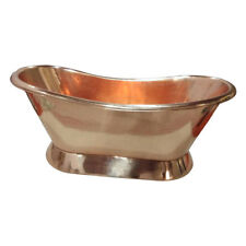 COPPER BATHTUB FULL COPPER FINISH - FREE DELIVERY IN UK