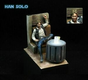 1/24 Resin Figure Model Kit Star Wars Han Solo Bar Scene Miniatures Unpainted