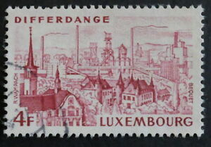 Timbre poste. Luxembourg. n°842.   Differdange