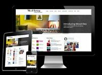 Professional Custom website design Free Domain + Hosting