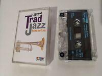 TRAD JAZZ - 'Favourites - Various Artists' Cassette Tape Album 1993 Free p&p UK