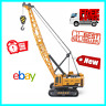 Engineering Construction Tractors Crawler Crane Truck Vehicle Children Toy Model