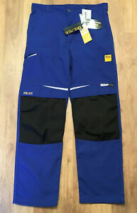 D-Blade Cordura Blue Techincal Workwear Trousers * Sizes Small to X-Large