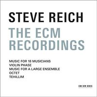 STEVE REICH - THE ECM RECORDINGS  REICH,STEVE - BOX-SET 3 CD NEW