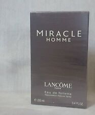 LANCOME MIRACLE homme eau de toilette 100ml spray, rare