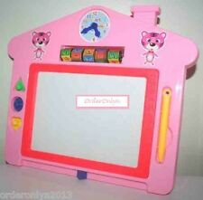Educational Magnetic Writing Drawing Board (Pink)