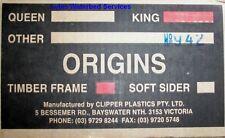 King Waterbed Mattress Full Float, Timber frame