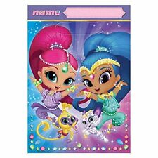 16 Counts Nickelodeon Shimmer and Shine Treat Favor Birthday Party Loot Bags