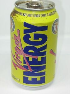 Collectible Virgin Energy Drink 330ml UK  to compete against other Energy Drinks