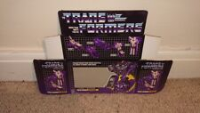 TRANSFORMERS ASTROTRAIN G1 SERIES (BOX ONLY)