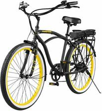 Swagtron EB-11 Electric Cruise Bicycle w/ Shimano 7-Speed & Removable Battery