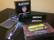 Captain America 1940's shield, Pacific Rim, Wolfenstein, Megaman Loot Crate