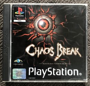 CHAOS BREAK - Sony PlayStation PS1 Game Early Survival Horror PAL *RARE*