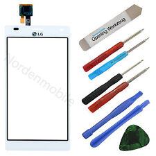 LG Optimus P880 4X HD Touchscreen Glas Display Digitizer Weiss + Klebefolie
