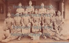 More details for original group photo soldiers of the royal scots 1896