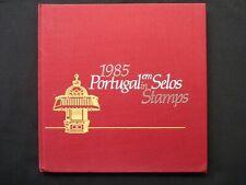 PORTUGAL STAMP YEAR BOOK . 1985 NUMBERED LIMITED EDITION.