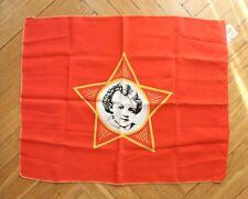 Flag Of USSR Soviet Youth Organization OKTYABRYATA. Lenin child. ORIGINA. 1984