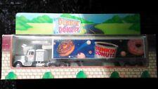 1995 Kenworth Custom Dunkin Donuts Tractor Trailer White 1:64 Scale