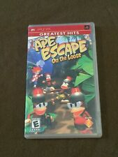 Sony PlayStation PSP Video Game Greatest Hits Ape Escape on the Loose Rated E