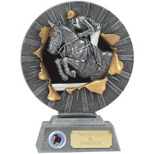 """SHOW JUMPING Trophy 7"""" FREE ENGRAVING Personalised Equestrian Horse Riding Award"""