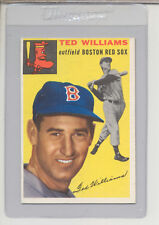 1954 Topps Baseball Card Ted Williams #250 EX or Better!