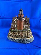 """Lighthouses """"Gay Head """" Massachusetts #219 - Harbour Lights 1998 COA"""