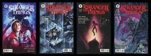 Stranger Things Comic Set 1-2-3-4 Lot C Netflix TV Horror Demogorgon Upside Down