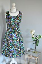 PEPPERBERRY Bravissimo vibrant floral skater dress 10RC 10 Really curvy